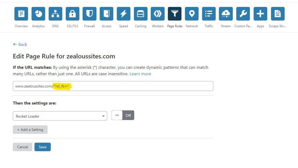 Use those asterisks to make a dynamic URL!